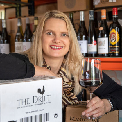 Karol-Ann, the Lekker Wines lady and South African wine specialist.
