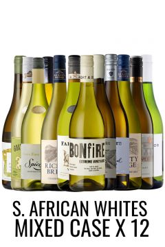 SOUTH AFRICAN White Wine Selection Case - 12 bottles from Lekker Wines