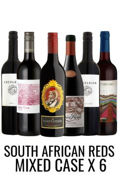 SOUTH AFRICAN Red Wine Selection Case from Lekker Wines