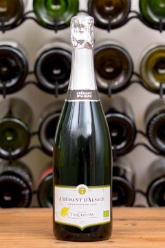 Cave de Turckheim Crémant d'Alsace Brut [Organic] NV from Lekker Wines