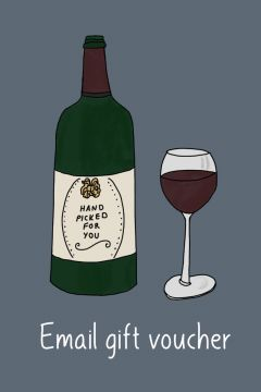 Email gift voucher from Lekker Wines