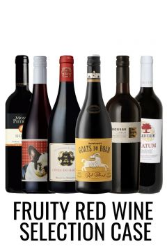 Fruity reds mixed case from Lekker Wines