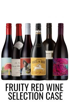Fruity reds mixed wine case from Lekker Wines