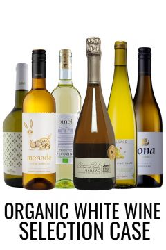 Organic white wine selection case from Lekker wines