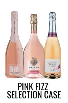 Pink fizz mixed case with Prosecco and Cremant from Lekker Wines