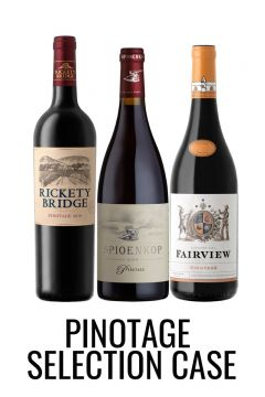Pinotage wine selection case from Lekker Wines