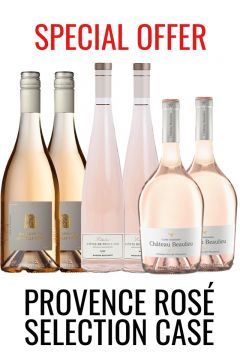 Provencal Rose wine selection case from Lekker Wines