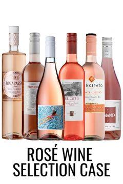 Rose wine selection case from Lekker Wines