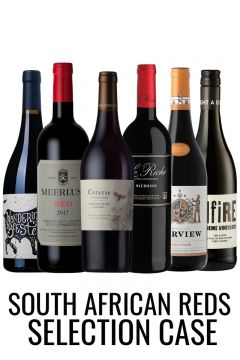 6 South African Red wines from lekker Wines