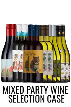 12 Party wines in a selection case from Lekker Wines