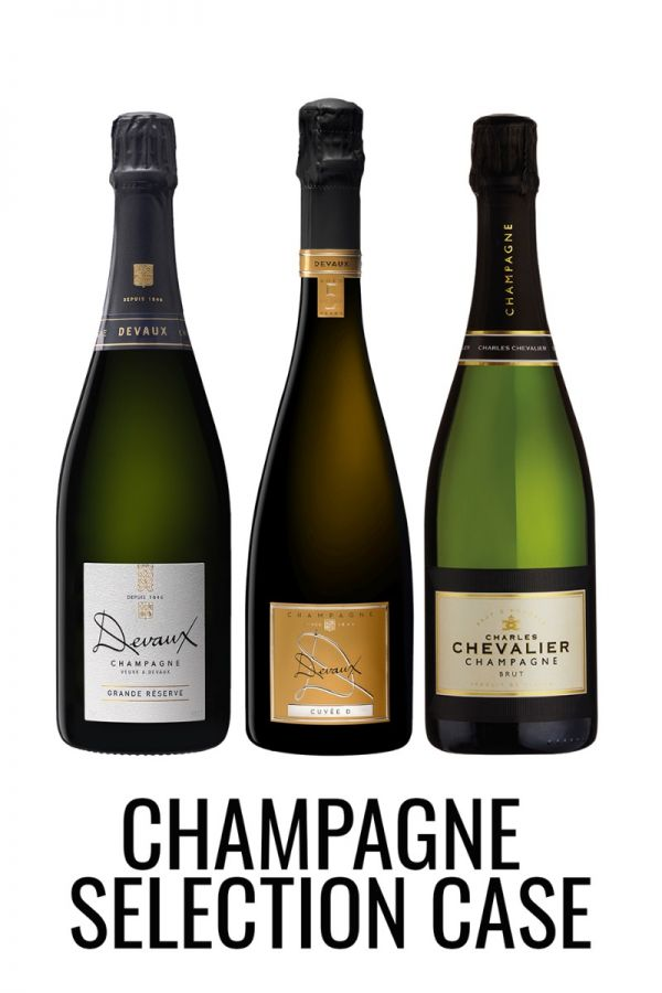 Champagne mixed case from Lekker Wines