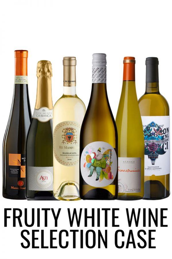 Fruity (sweet) White Wine Mixed Case from Lekker Wines