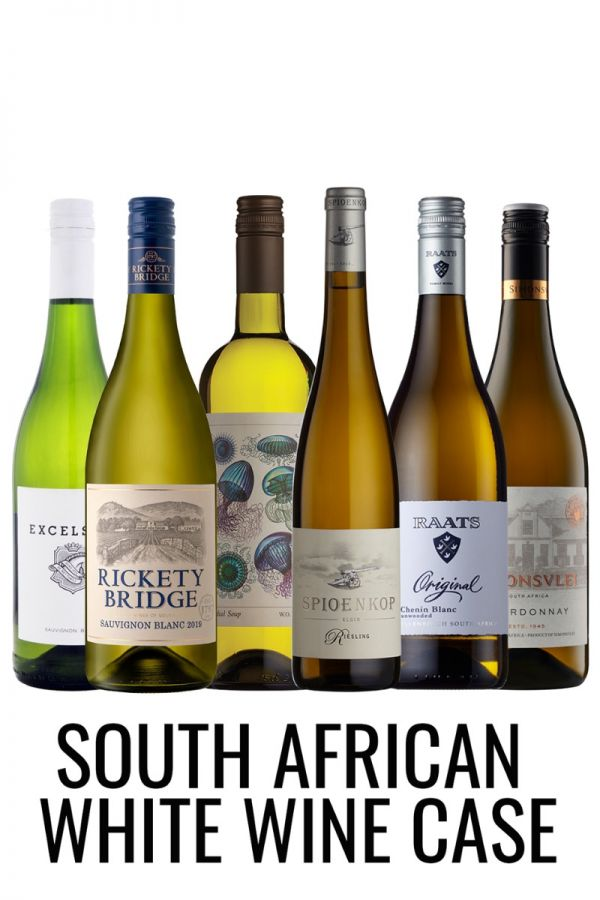 South African White wine mixed case from Lekker Wines